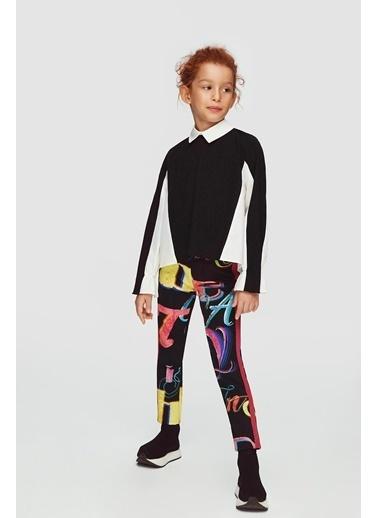 Lia Lea Kız Çocuk Siyah Bluz 20Fwll03532 Siyah